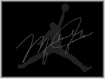 Cool Sports Players Michael Jordan Logo