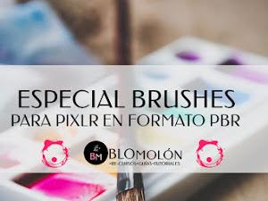 Especial Brushes Para Pixlr En Formato PBR