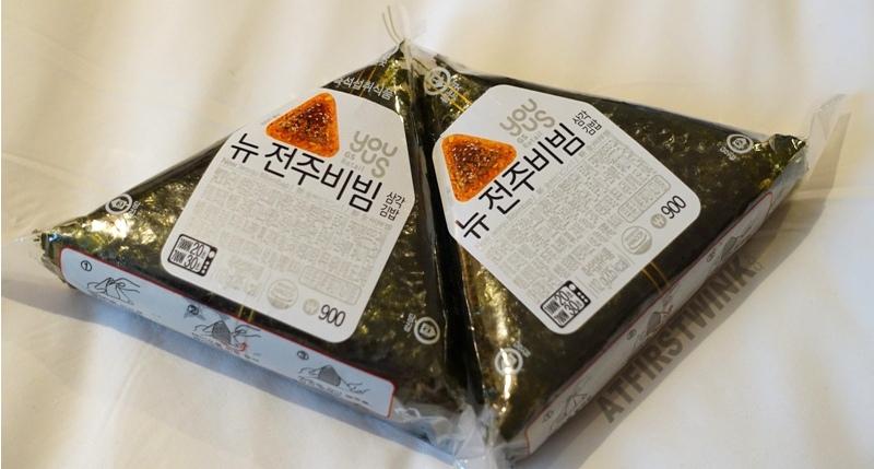 korean onigiri samgak kimbap new jeonju bibimbap gs25 convenience store
