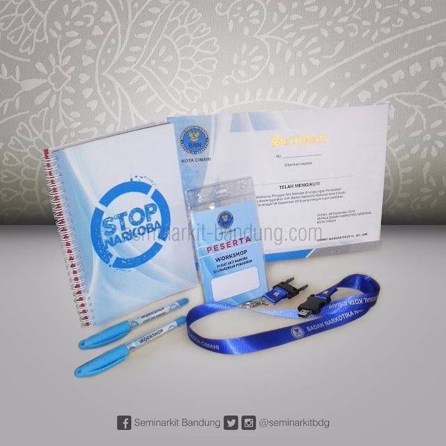 Pesanan Paket Seminar kit dari BNN Kota Bandung