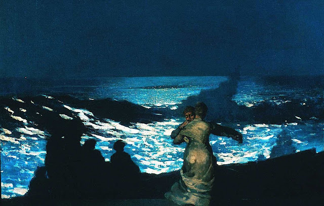 Winslow Homer, moon dance