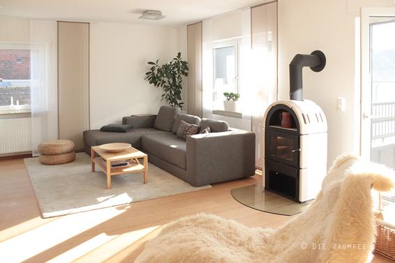 offene kuche wohnzimmer abtrennen: küche essbereich mit schiebetür, Hause ideen