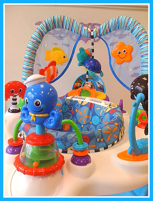Kids Grow Baby Einstein Exersaucer