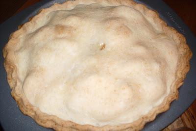 Fresh Apricot Pie.