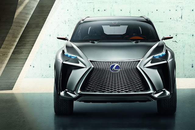 Lexus LF-NX Crossover Concept front