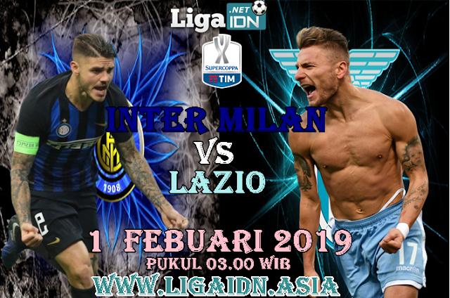 Prediksi Inter Milan Vs Lazio 1 Febuari 2019 , Laga Sengit Akan Terjadi