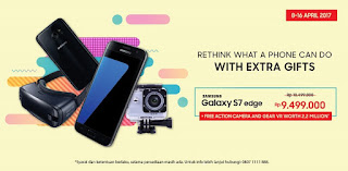 Promo Galaxy S7 edge + Gear VR + Action Camera
