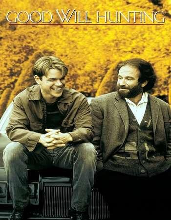 Poster Of Good Will Hunting 1997 Dual Audio 720p BRRip [Hindi - English] ESubs Free Download Watch Online Worldfree4u
