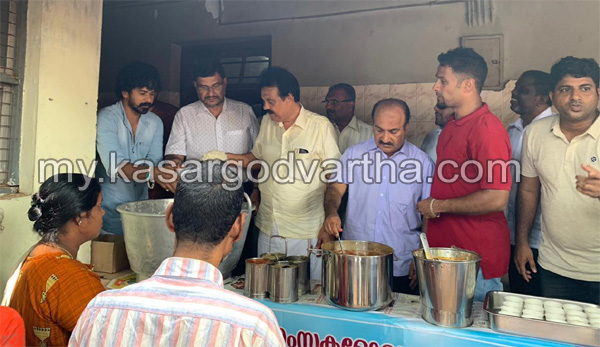 News, Kerala, Kasaragod, General hospital, Nabidhinam, MLA, Inaguration,Meelad un Nabi Celebration; Gymkhana Khazilane distributed food for poor