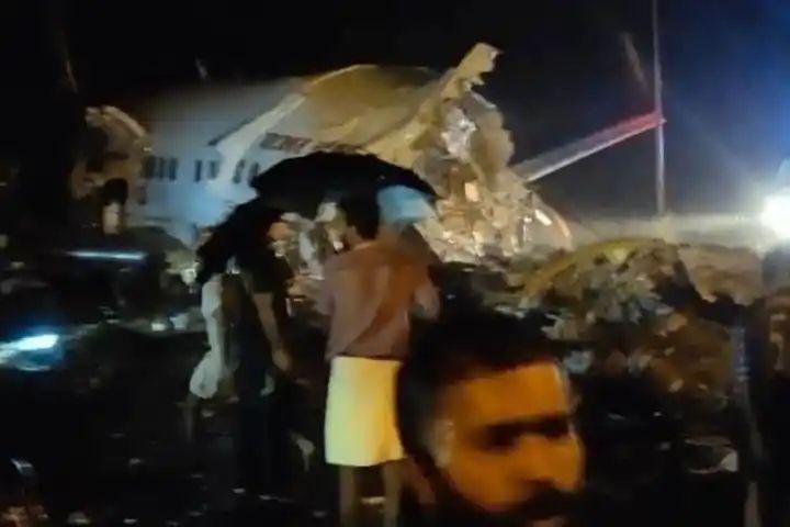 Air India Express skidded off the runway Karipur, Kerala