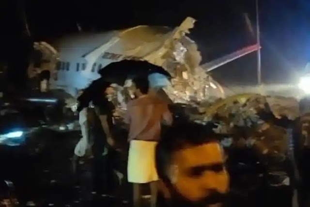 Pilot, 10 Passengers Killed: Air India Express Flight with over 180 on Board Skids Off Runway in Kozhikode