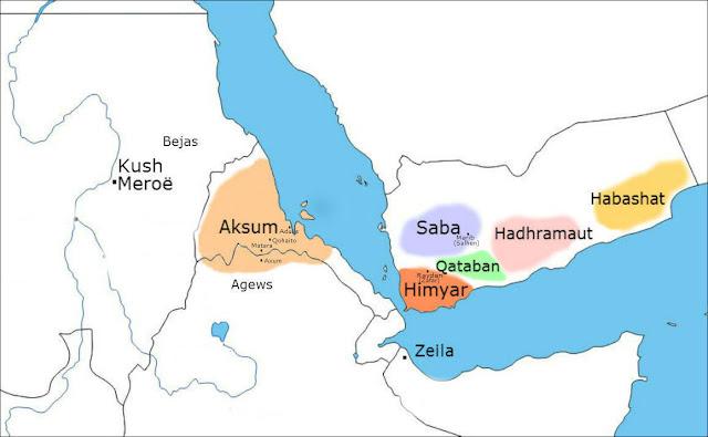 Resultado de imagen de yemen kingdoms map
