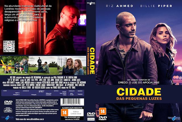 Capa DVD Cidade das Pequenas Luzes [Exclusiva]