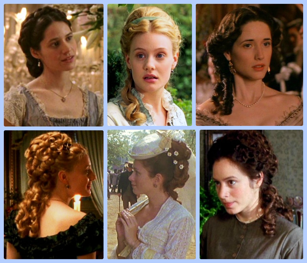 Late victorian hairstyles
