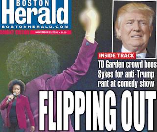 Boston Boo Birds Flip On Wanda Sykes After Anti-Trump Rant