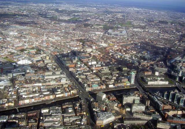 foto aérea de Dublin – Irlanda