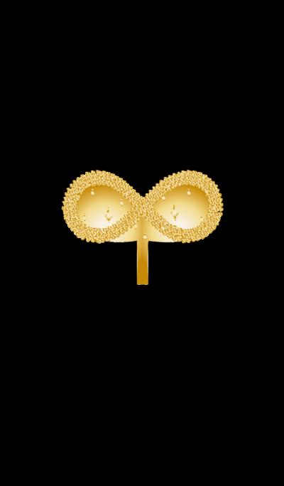 Gold seedlings growing money to infinity
