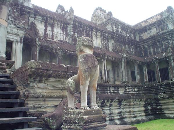 Escultura Templo de Angkor - Camboya