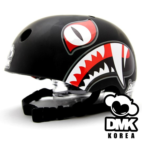 DOLDOL design/ Graffiti Artist Devil Monkey DMK TIGER KOREA concept helmet sticker