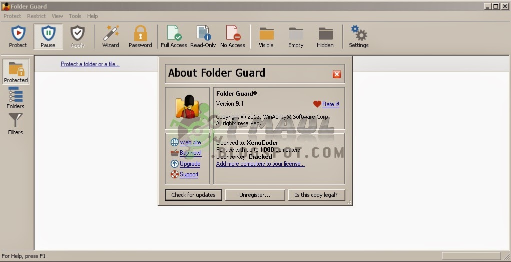 Download Folder Guard 9.1 Terbaru Full Version