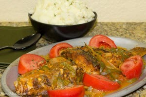 Jamaican Brown Stew Fish