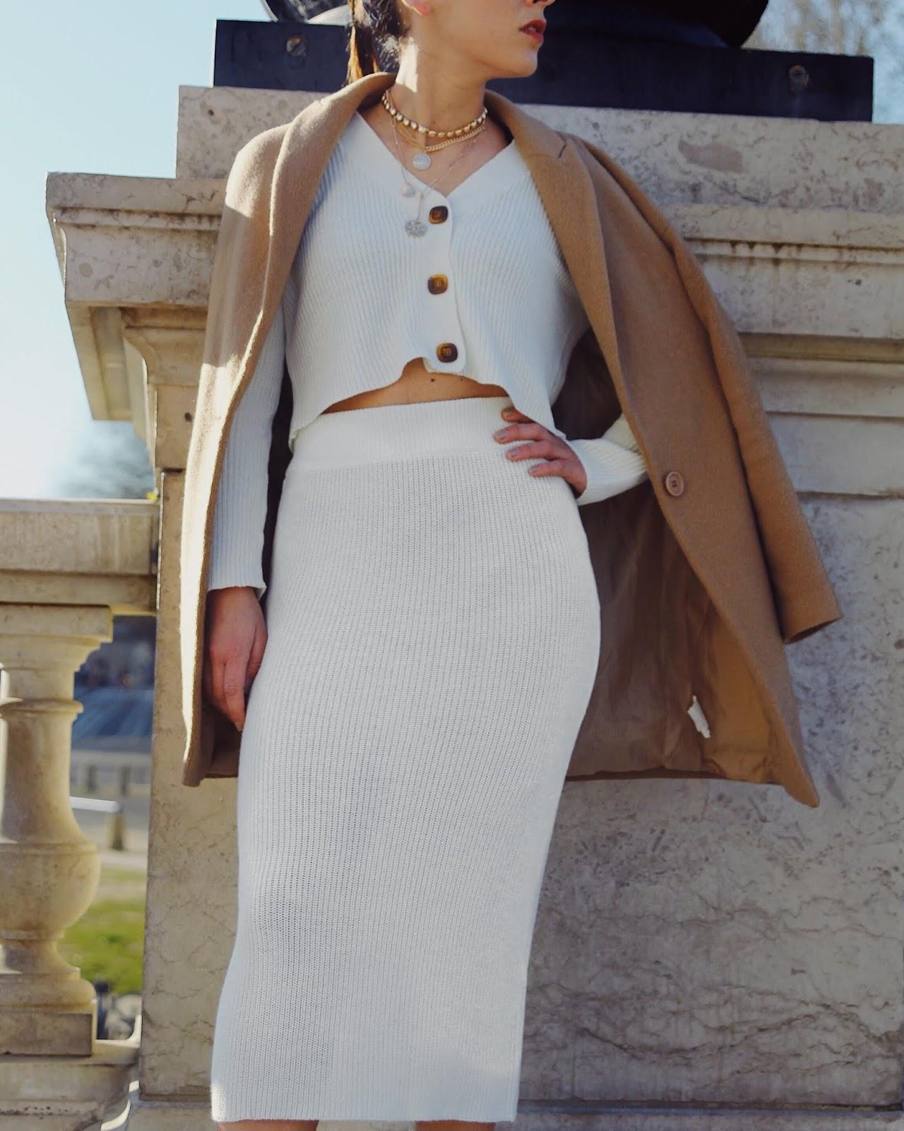 Cardigan, ASOS , comment porter du blanc au printemps