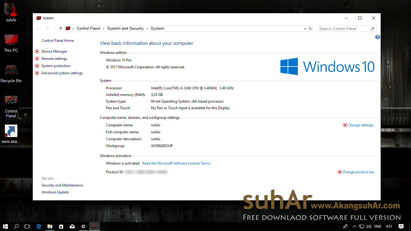 Free download Windows 10 Final Remix Gamer Edition 2017 last update