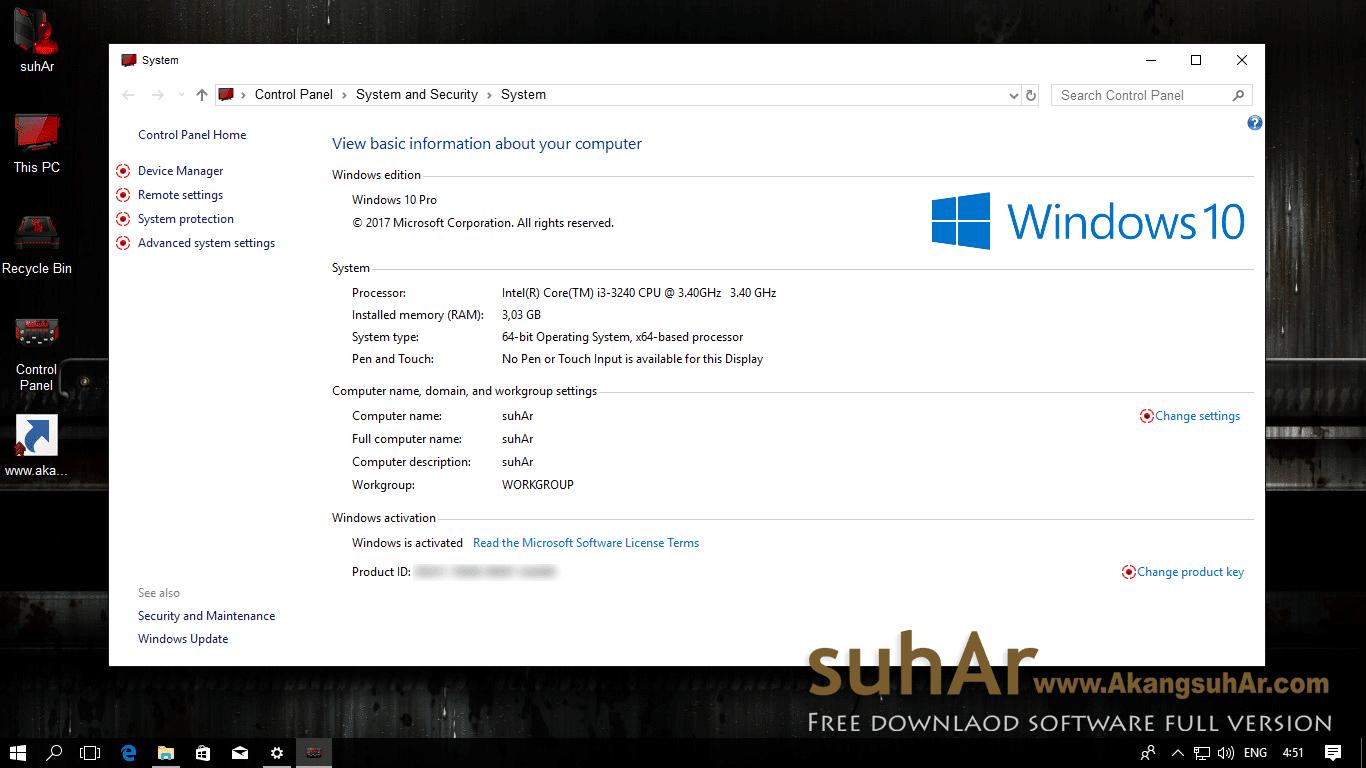 Free download Windows 10 Final Remix Gamer Edition 2017 last update