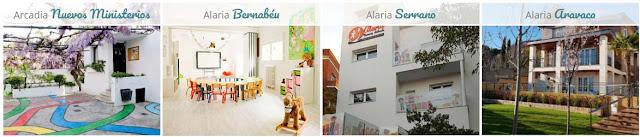 escuelas infantiles Alaria en Madrid