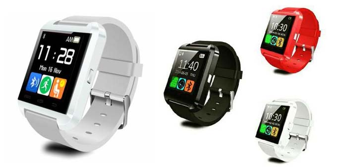 Jam tangan smartwatch terbaik dan murah - U Watch U8