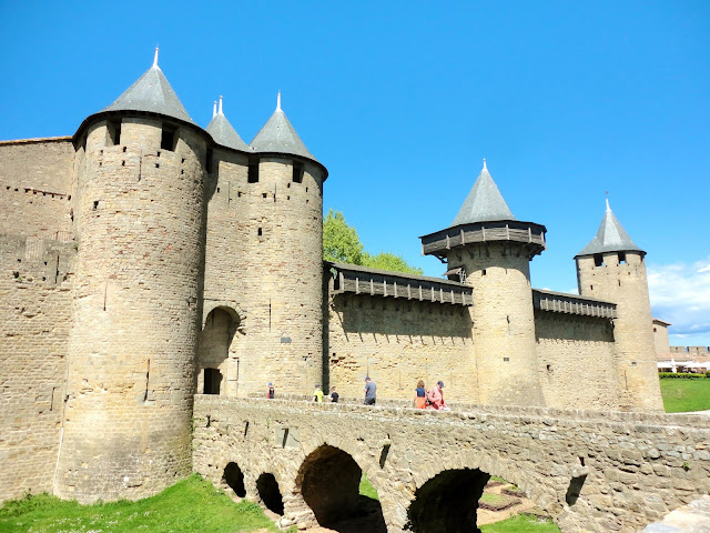 Chateau Comtal, La Cite, Carcassonne, France