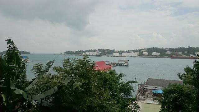 Pulau Sambu seen from Belakang Padang, Image Credit: Blog Author Barelang Adventure