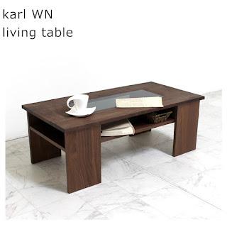 【LT-M-043-WN】カール WN living table