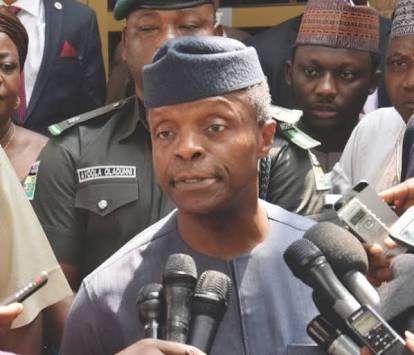 Vice President Osinbajo Replies Atiku