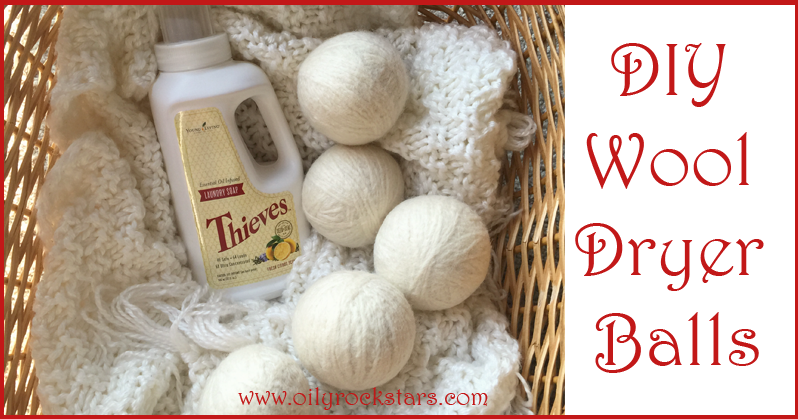 Diy Wool Dryer Balls Oily Rockstars