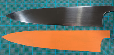 Project #19 - 210 mm Niolox gyuto for a local chef