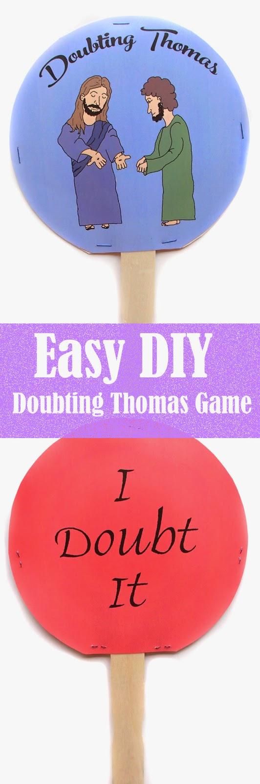 Easy Breezy Sunday School: Doubting Thomas