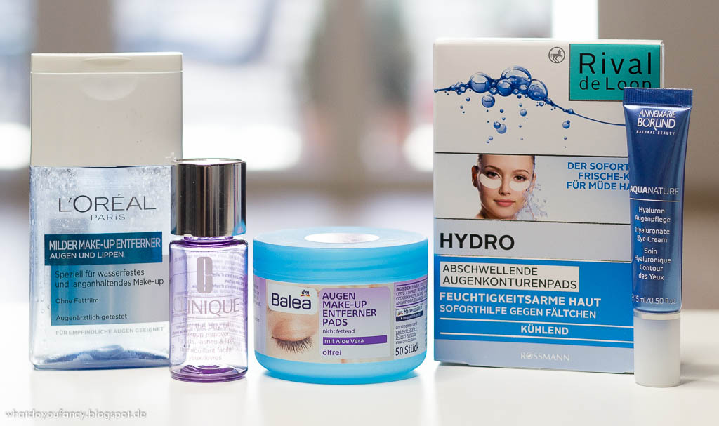 Aufgebraucht und nachgekauft Augenpflege