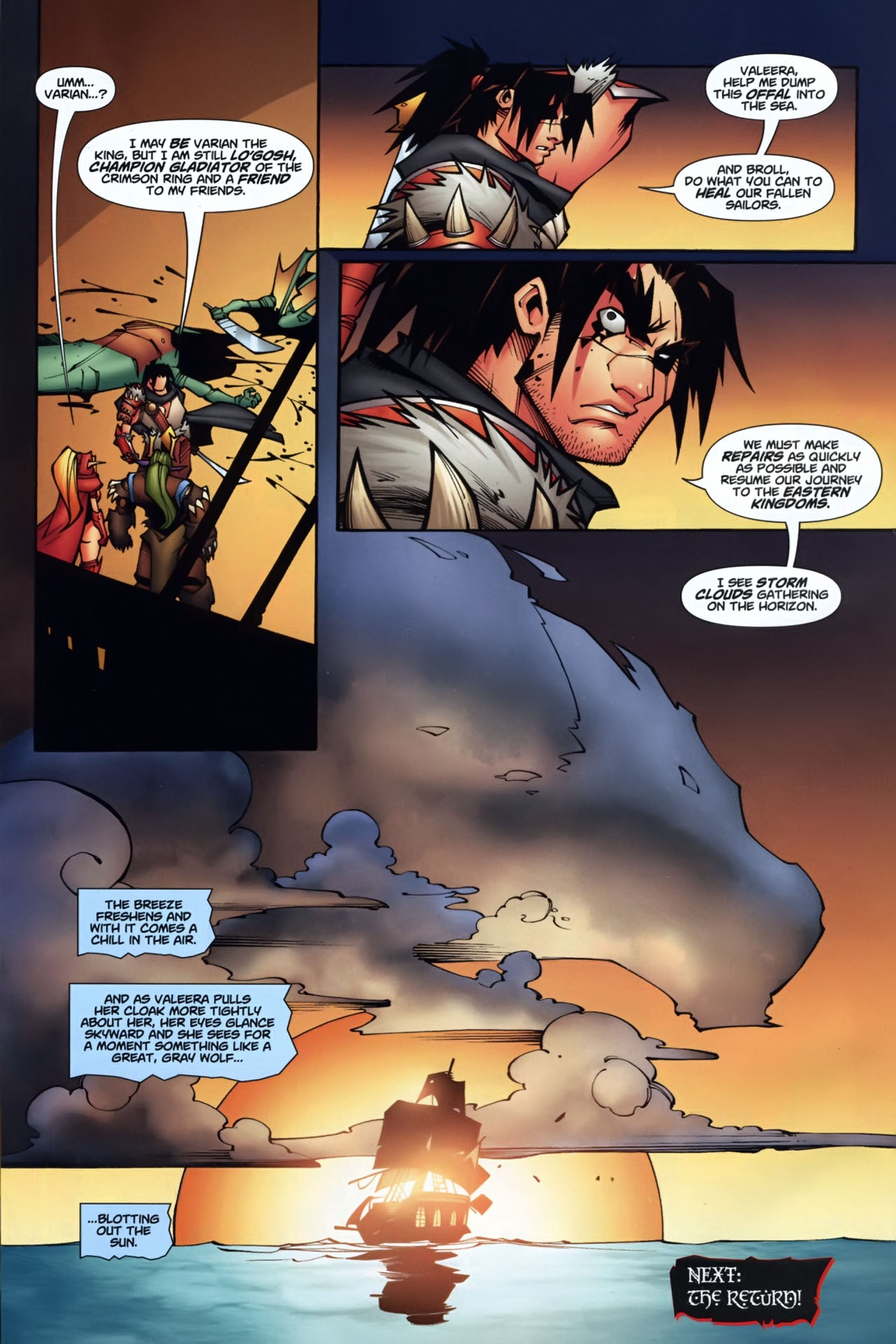 Read online World of Warcraft comic -  Issue #7 - 23