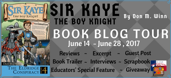 The Eldridge Conspiracy (Sir Kaye the Boy Knight): Book Blog Tour, Book Trailer, and Giveaway #LoneStarLit