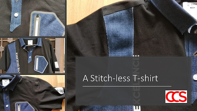 Stitch-less T-shirt