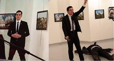ألشرطة التركية تعلن عن مفاجأة كبرى بخصوص قاتل #السفير_الروسي