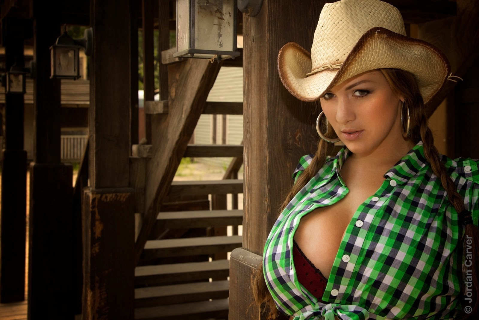 Jordan Carver Cowgirl Hot Sexy Photo Shoot  Damn Sexy-2197