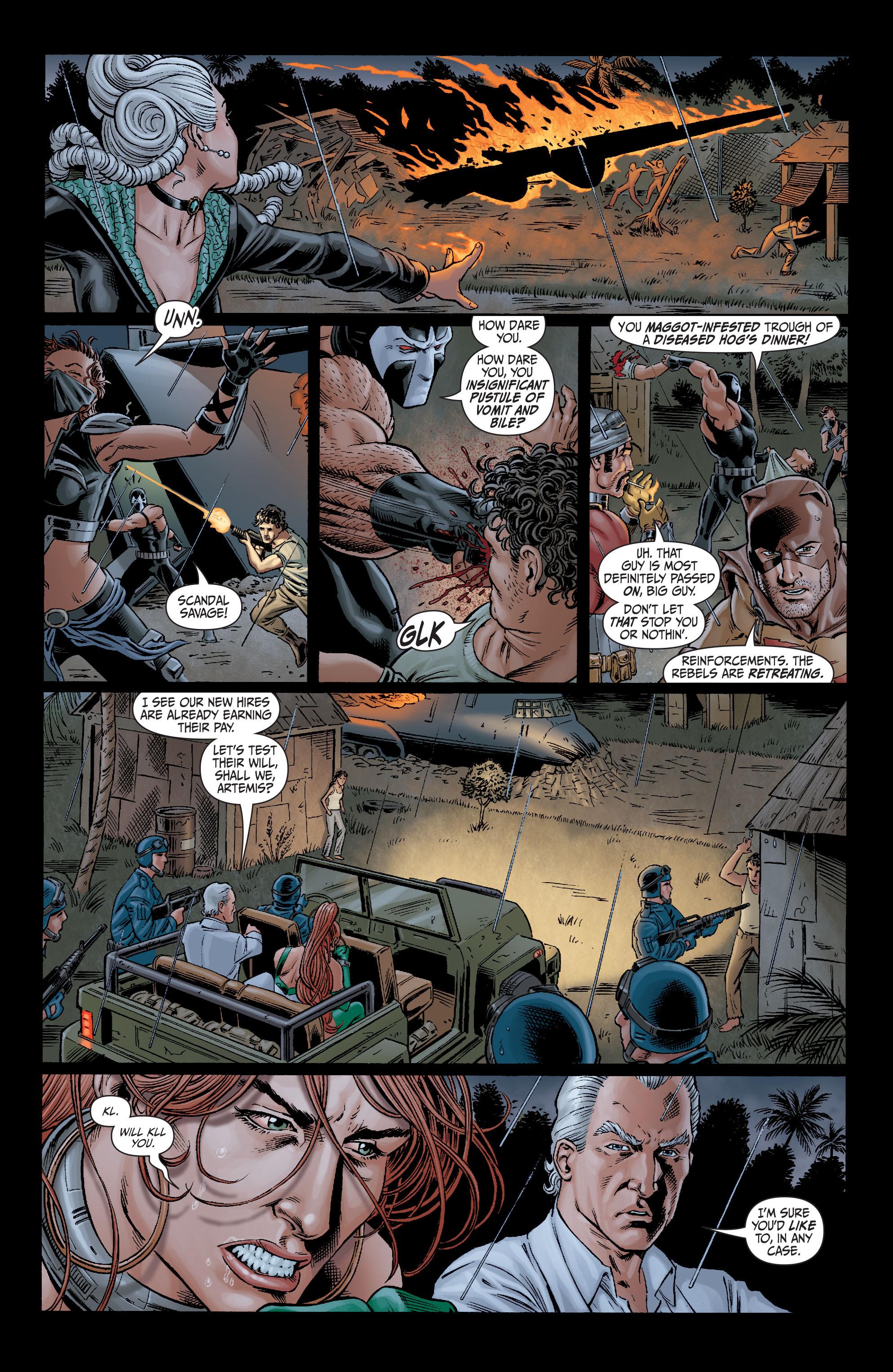 Read online Secret Six (2008) comic -  Issue #10 - 21