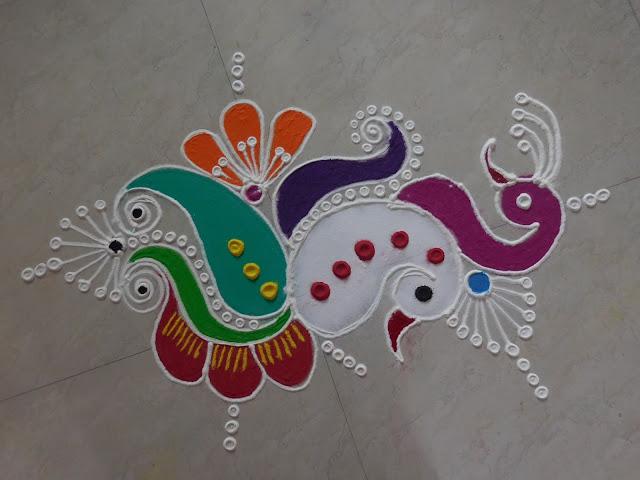 rangoli designs for diwali free hand