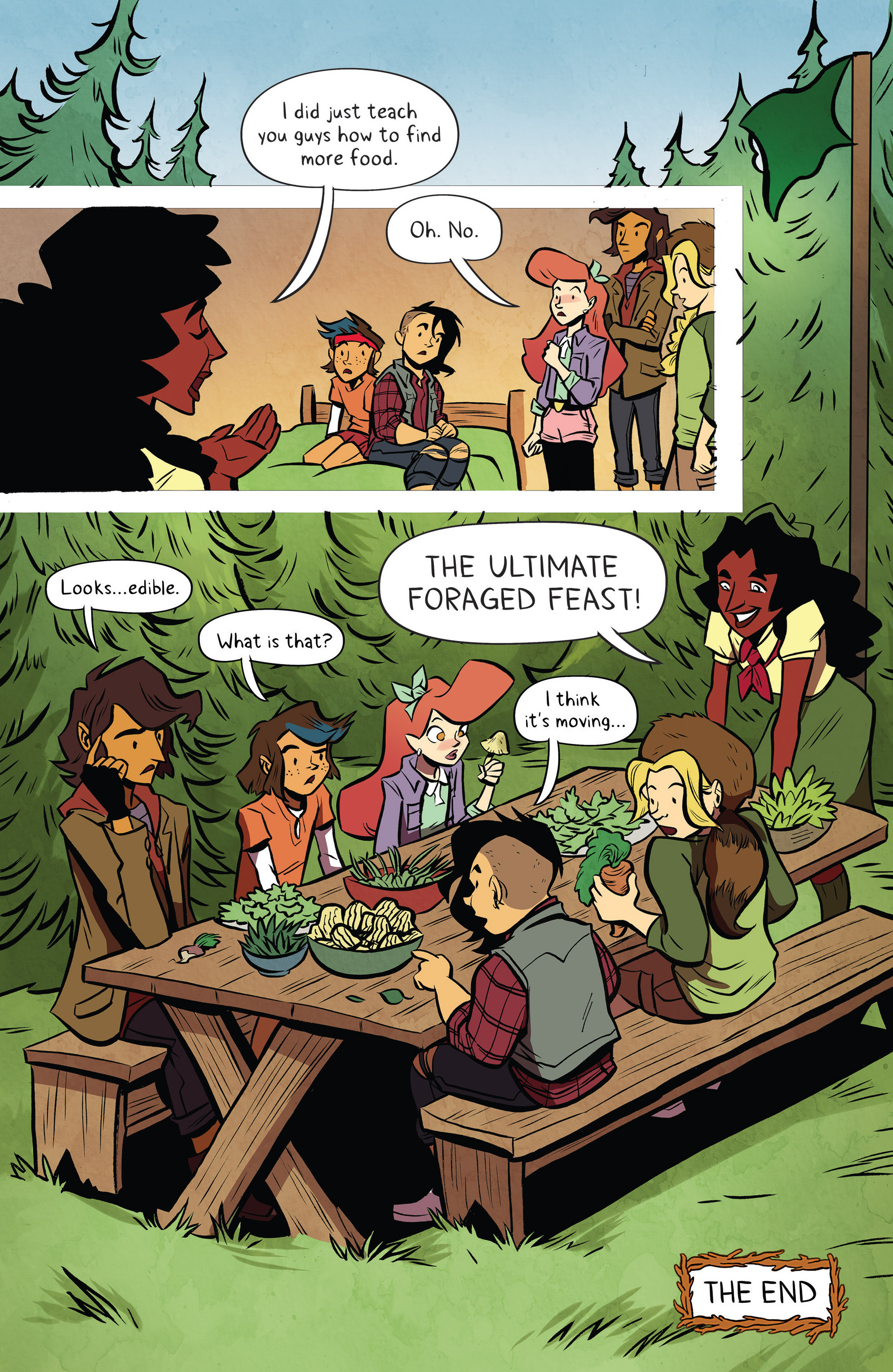 Read online Lumberjanes: Makin' the Ghost of It 2016 Special comic -  Issue # Full - 34