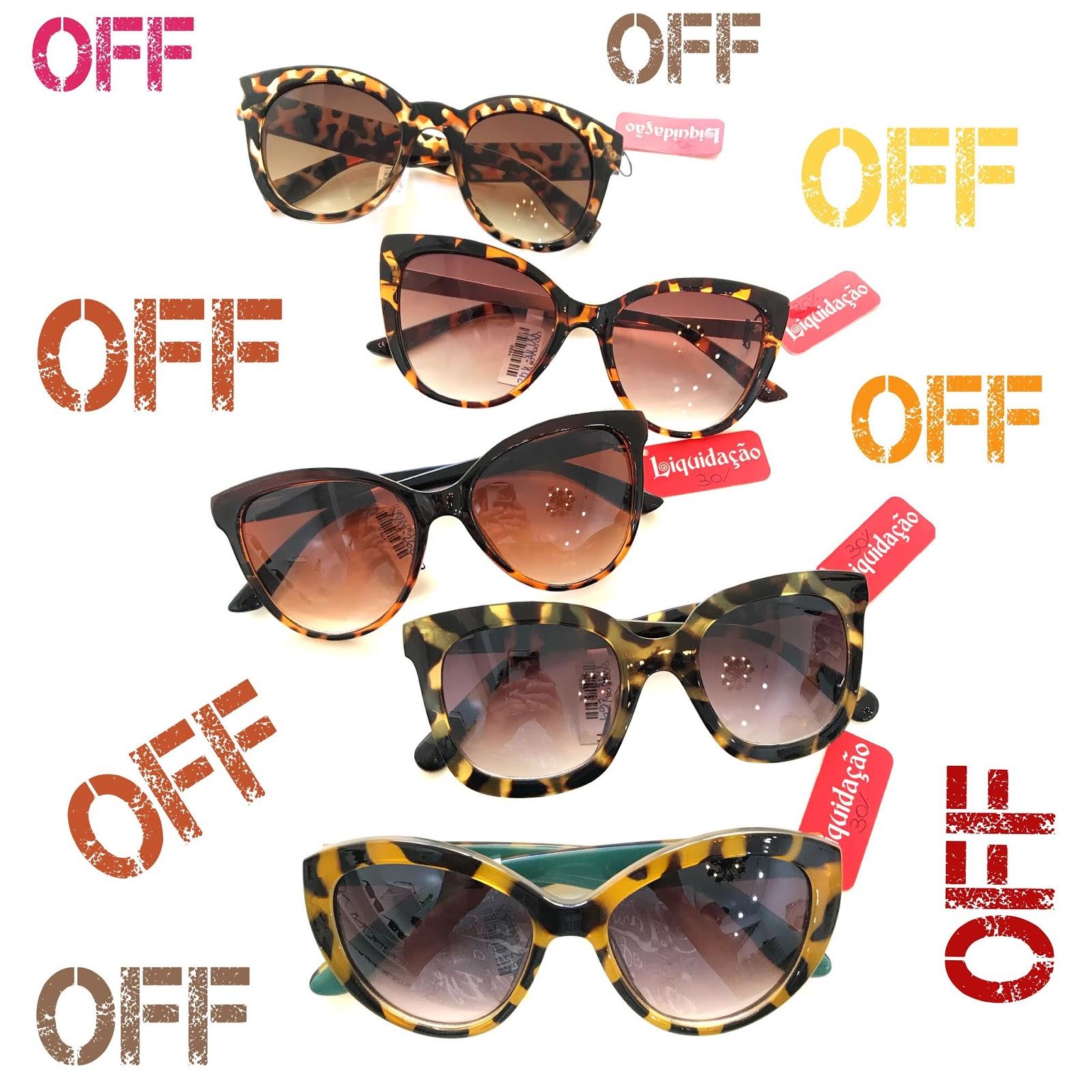 af2df6520189e Loucos por Óculos  ÓCULOS DE SOL COM ATÉ 70% DE DESCONTO