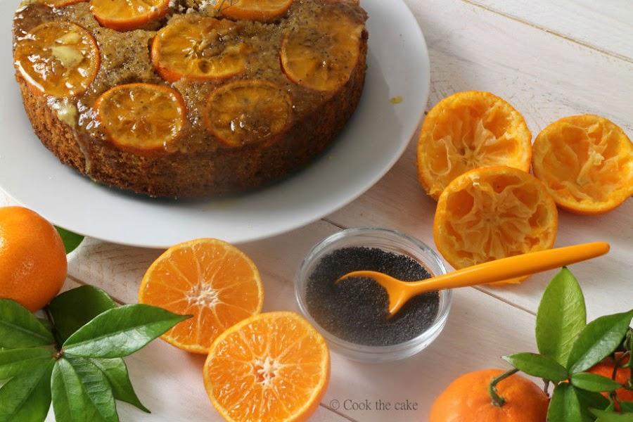 bizcocho-invertido-de-mandarinas, tangerine-upside-down-cake