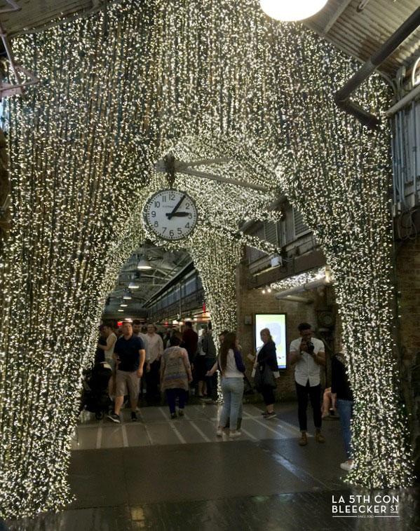 Chelsea Market Nueva York Navidad