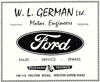 W.L.German of Weston-Super-Mare 1963 advert